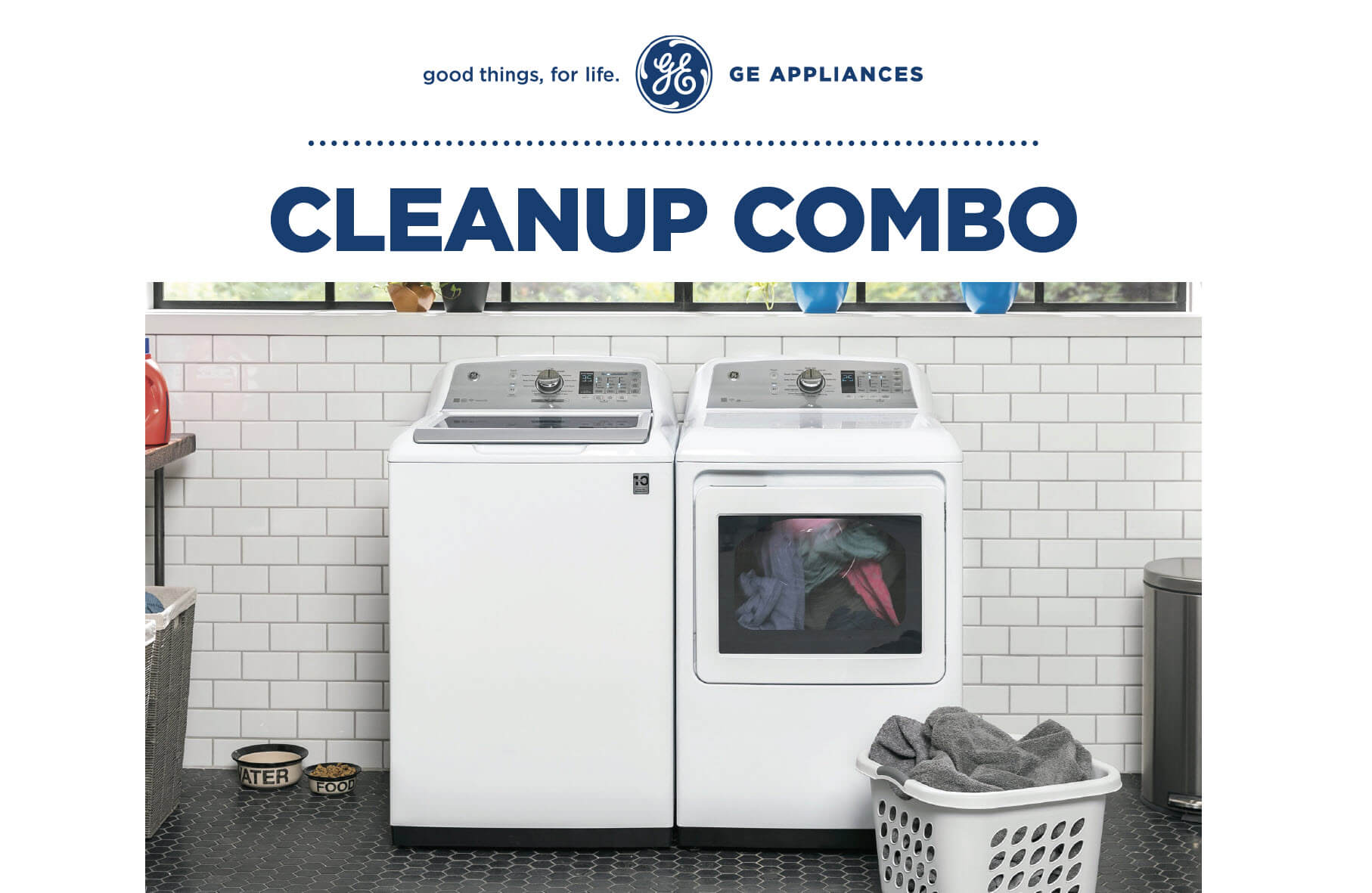 GE Appliances Cleanup Combo